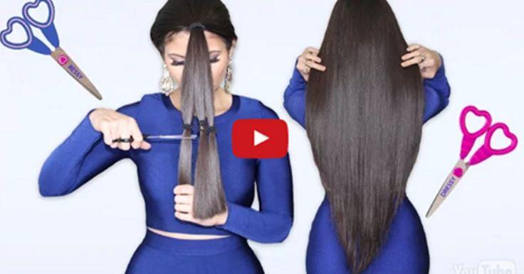 En este articulo aprenderas a cortar el cabello en capas en casa. Es más fácil de lo que parece!