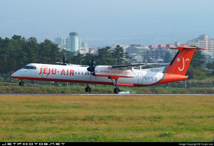De Havilland Canada DHC-8-402Q Dash 8, Jeju Air, HL5251, cn 4119, first flight 1/2006, Jeju Air delivered 21.4.2006. Foto: Cheju, South Korea, 3.10.2007.