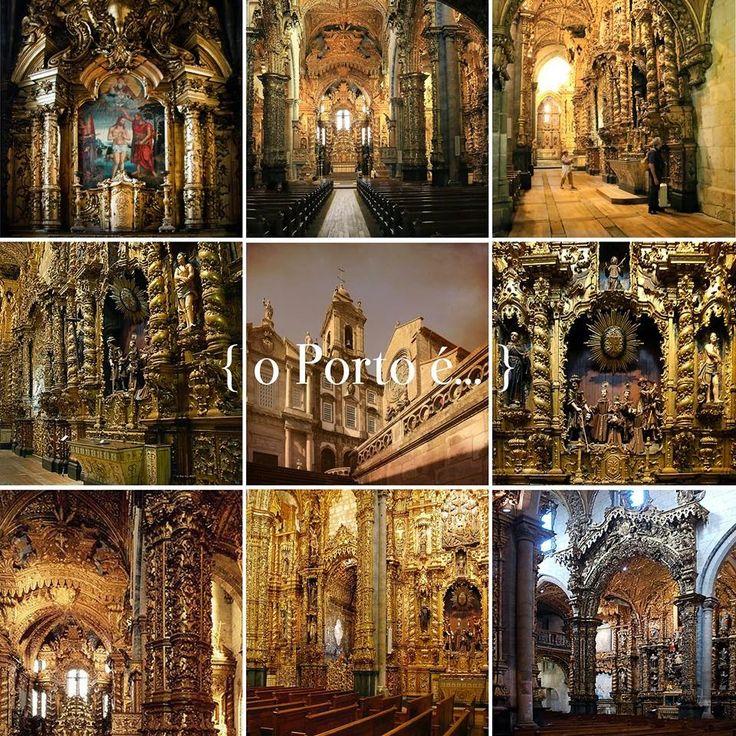 o Porto é... o barroco de s. francisco