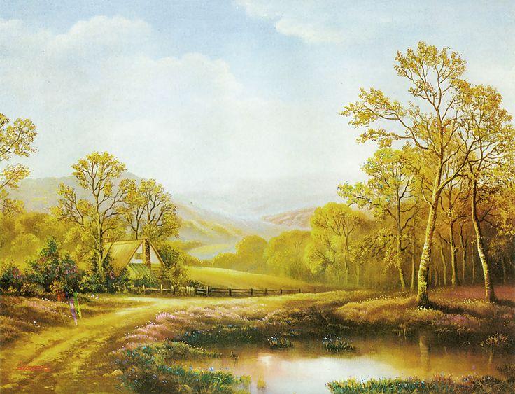 Spring Beckons (Reprint on Paper - Unframed)
