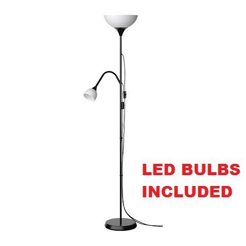 Not Led Reading Floor Lamp Cool Ikea Lightbulbs Included qSVUzMpG