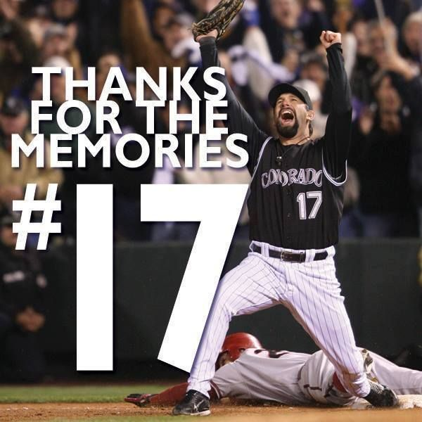 Todd Helton retires after 17 years with the Colorado Rockies