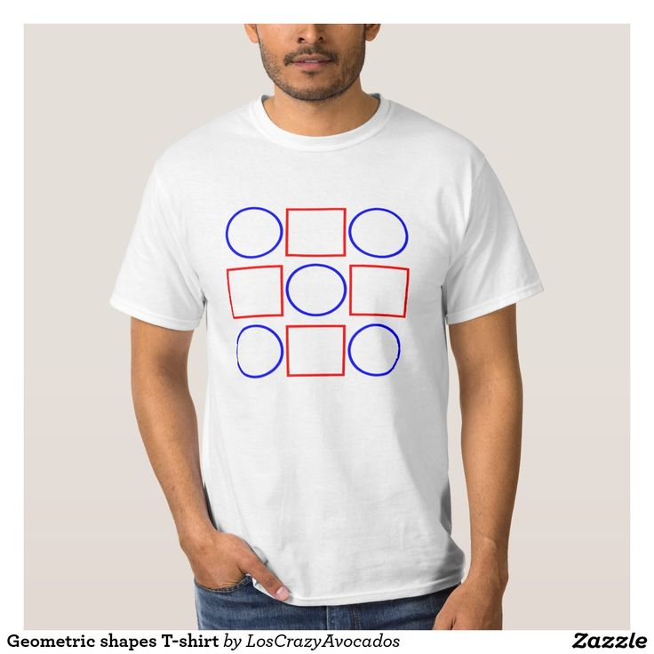 Geometric shapes T-shirt