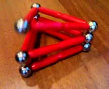 A toy with Magnetix