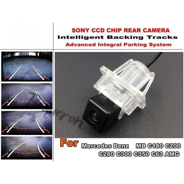 59.20$  Watch now - http://alif93.shopchina.info/go.php?t=32414787894 - Intelligent Car Parking Camera / with Tracks Module Rear Camera CCD Night VisionFor Mercedes Benz C180 C200 C280 C300 C350 C63 59.20$ #shopstyle