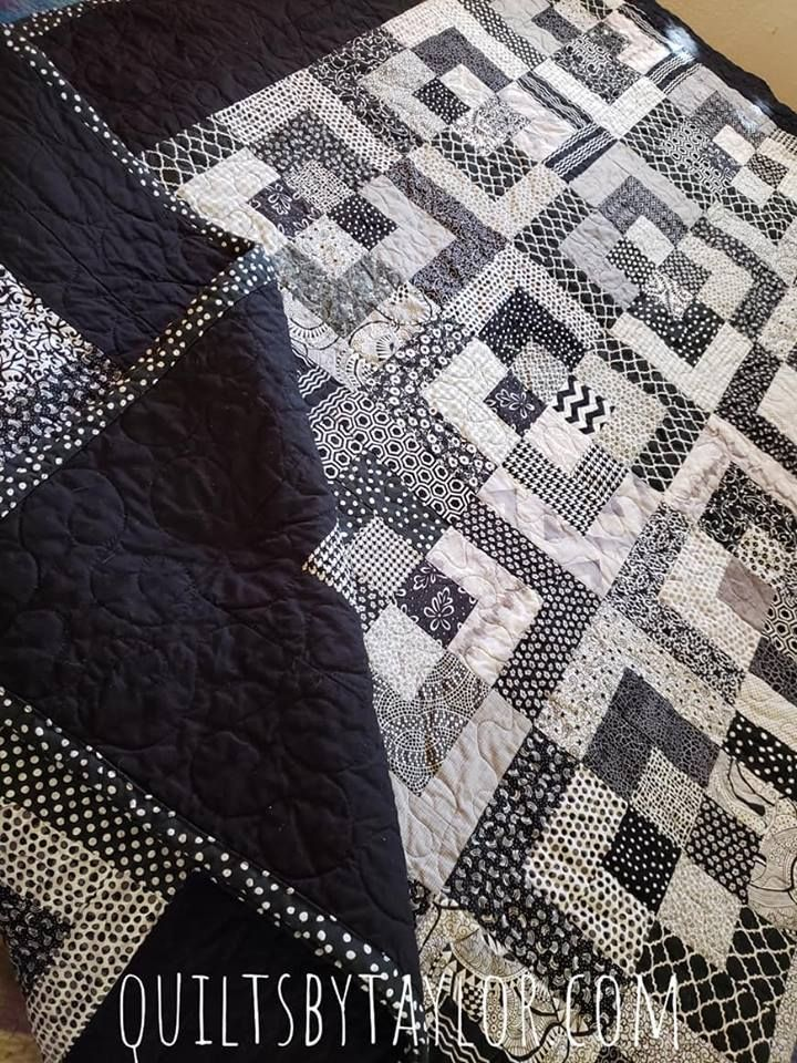 Modern Patchwork Quilt For Sale Black And White Quilts Handmade Quilts For Sale Quilts For Sale Black and white quilts for sale