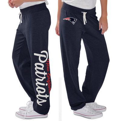 G-III 4Her by Carl Banks New England Patriots Women's Navy Scrimmage Fleece Pants