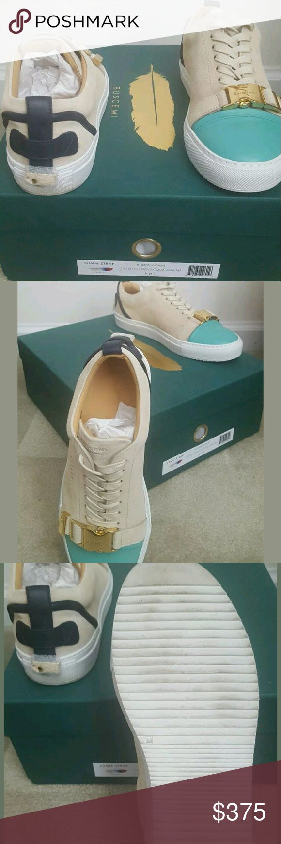 Authentic Buscemi 50mm Strap Lightly Worn Sneakers Buscemi Shoes Sneakers