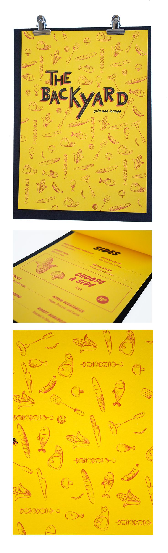 Class: 1 Year Print Design & Publishing || Name: Benthe Derks || Year: 2015 || Recreate your favorite restaurants menu. http://friendsofdesign.net/1-year-print-design-publishing