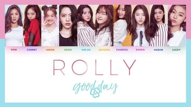 Tai nhac chuong mới nhất Kpop bài hát Rolly - Good Day.