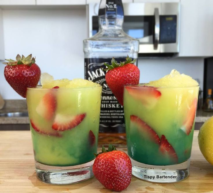 Check out The Green Destiny! It's the perfect mix of whiskey and fun! For the recipe, visit us here: www.TipsyBartender.com
