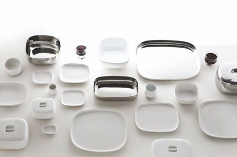 Ronan and Erwan Bouroullec for Alessi | Ovale line of tableware