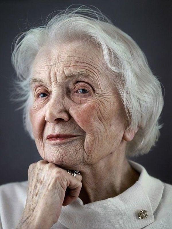 Raw, Honest Close-Up Portraits Of 100-Year-Olds - DesignTAXI.com