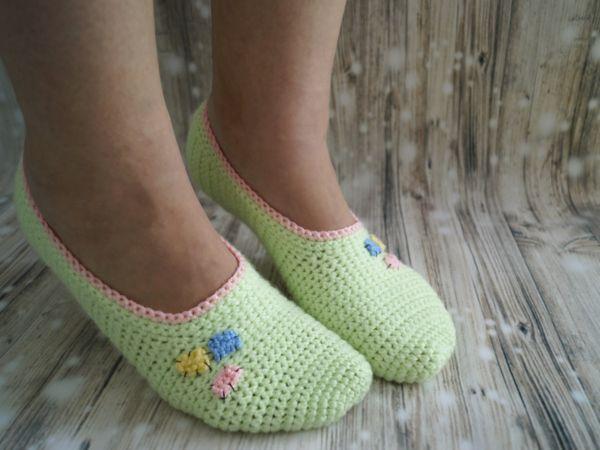 Free crochet pattern Summer shoes Gr. 36-43