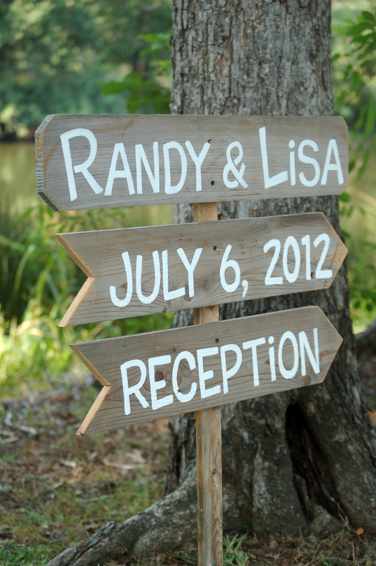 Outdoor Wedding Sign Hand Painted Cowgirl by TRUECONNECTION, $75.00