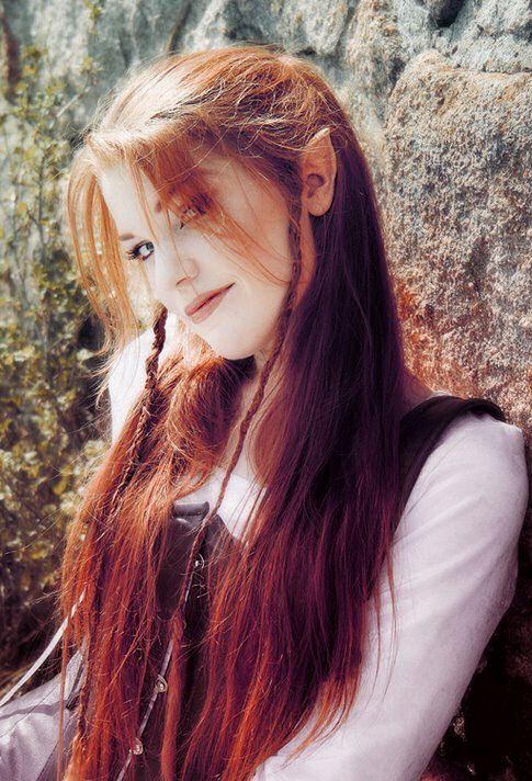 Elven hair (Legolas) inspired Photographie Pinterest Hair ...