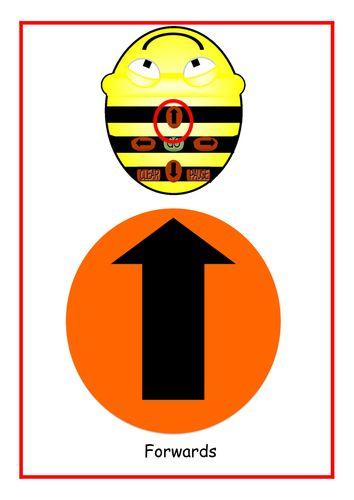 <em>Bee</em> <em>bot</em> direction mats