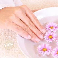 Soothing Soak for Dry Hands | First for Women