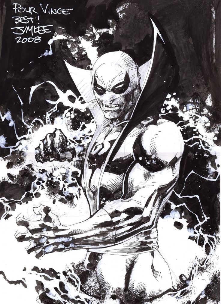 Jim Lee : Iron Fist, in Vincent Ganem's Jim Lee Comic Art Gallery ...