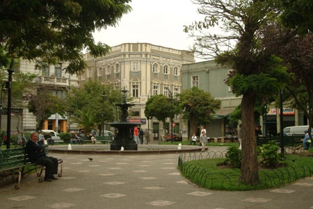Plaza Echaurren y sus alrededores.