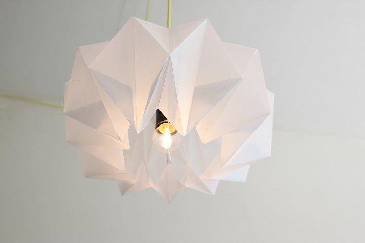 DIY papieren lamp - reintroduced
