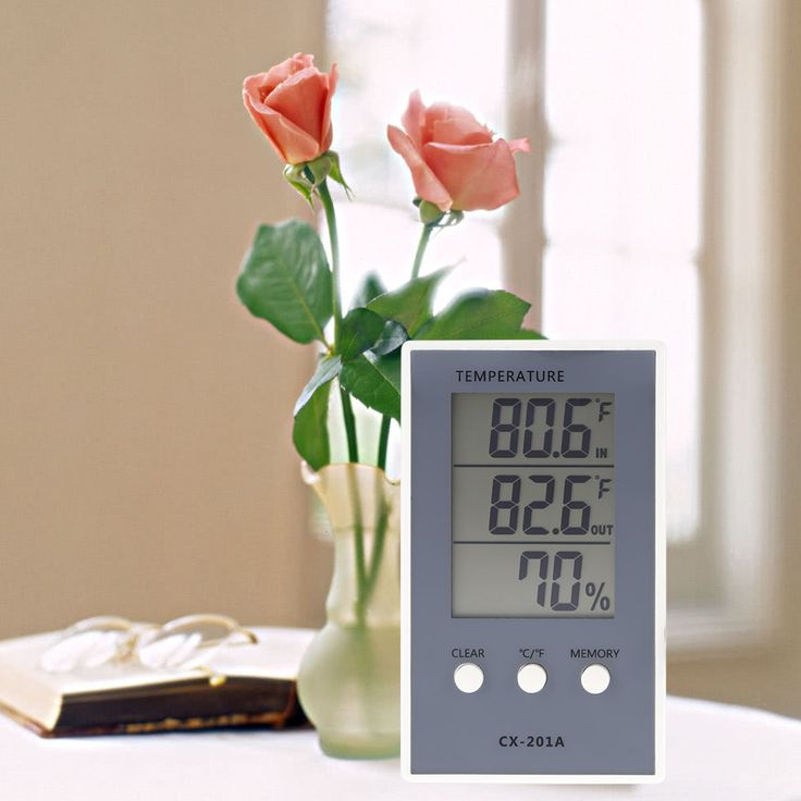 CX-201A LCD Digital Thermometer Hygrometer Indoor/Outdoor Fish Tank Temperature Humidity Measurer Weather Station Tester. Yesterday's price: US $4.65 (3.77 EUR). Today's price: US $4.23 (3.45 EUR). Discount: 9%.