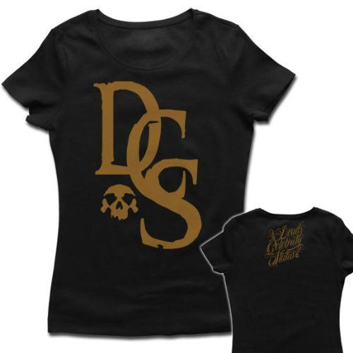 Dead Celebrity Status Ladies T-Shirt Print Gold:Amazon:Sports & Outdoors