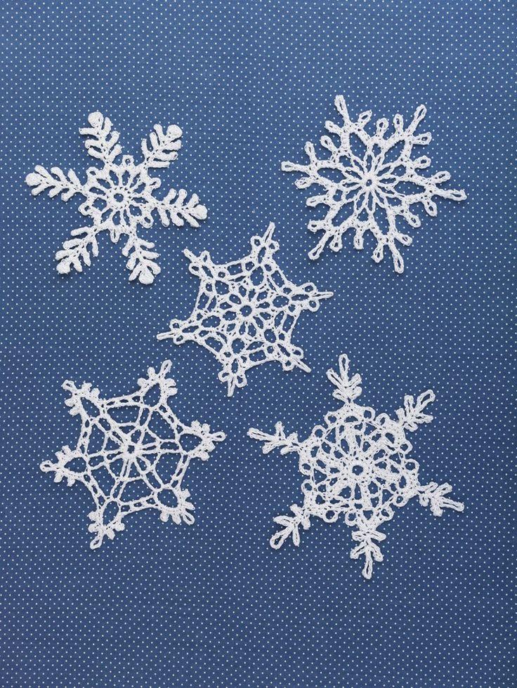 Snowflakes (Crochet)