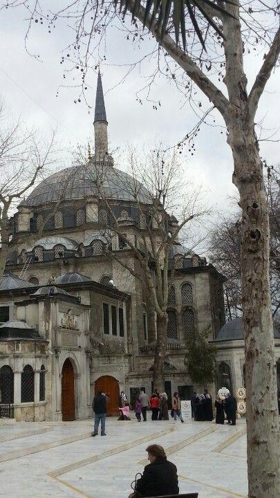 Eyup Sultan Mosque Istanbul Turkey