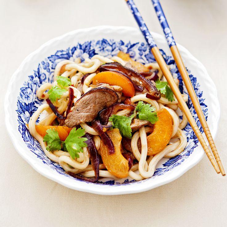 Hoisin Duck Noodles. Quick, delicious & healthy!