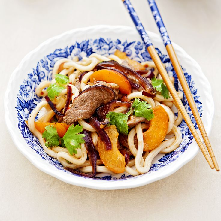Hoisin Duck Noodles. Quick, delicious & healthy!