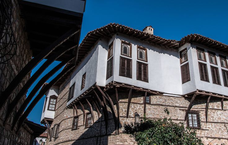 Traditional Macedonian architecture in Kastoria