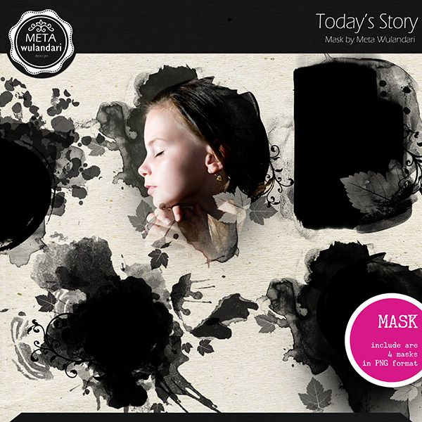 Today Story Mask :: Masks and Overlays :: Elements :: Memory Scraps