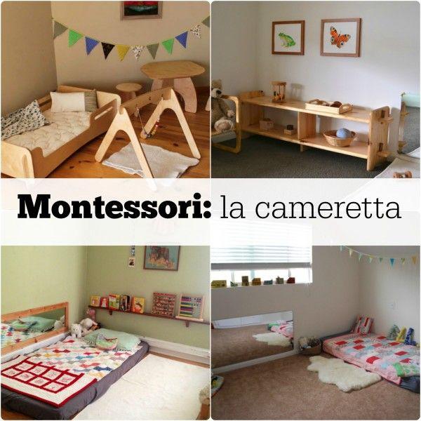 Cameretta montessoriana: le regole d'oro per arredare la cameretta secondo le indicazioni di Maria Montessori
