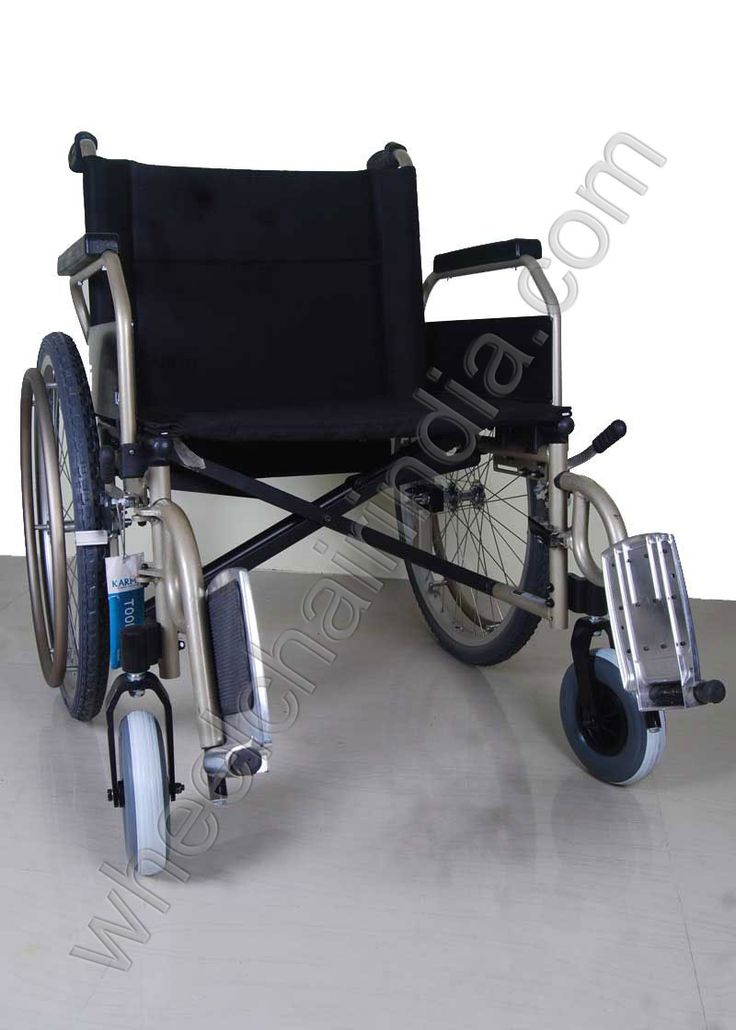 Heavy Duty Wheelchair is a lightweight, durable and reliable manual wheelchair. It comes standard with Swing away and removable leg rests, swing back armrests and quick release wheels. A lightweight, Folding, rear wheel drive wheelchair with slang and padded seat and backrest. Available in five seat Widths. It has a swing away armrests, swing away removable footrests, adjustable rear wheel position and Front castors. The standard armrests are swinging back desk style. Available with fixed…
