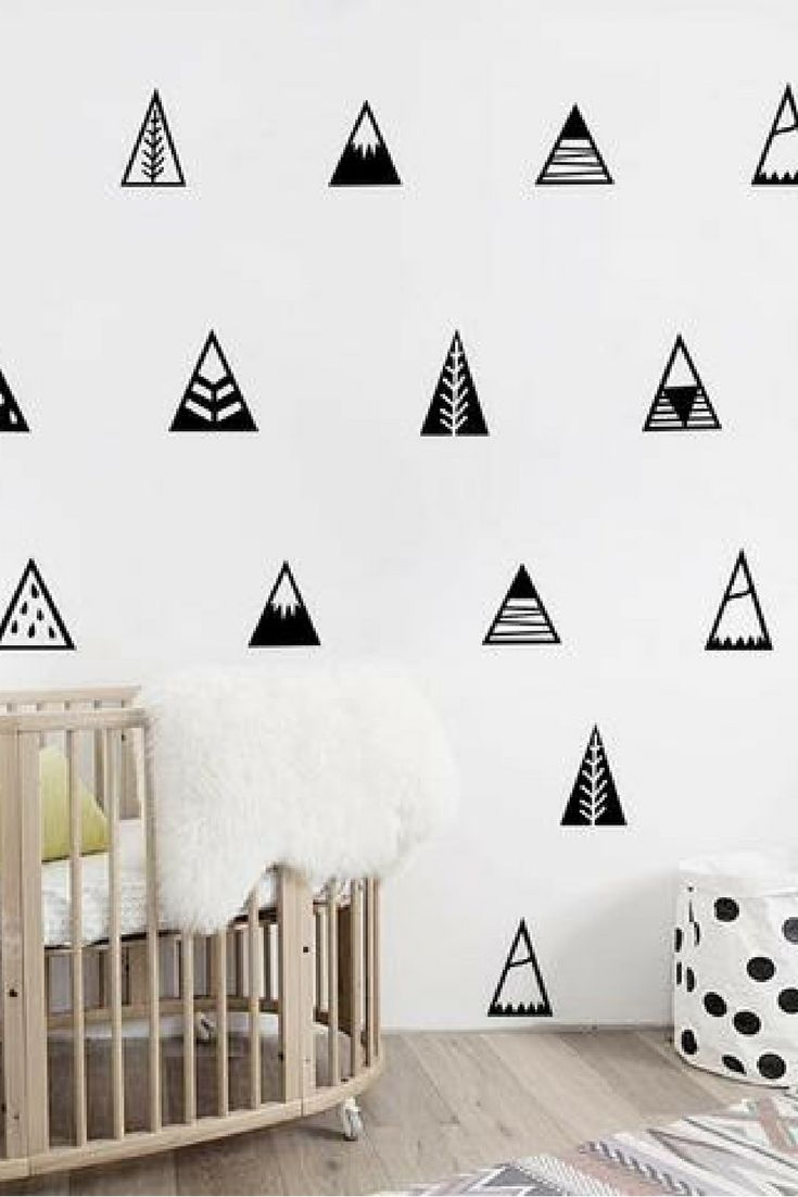 Our tee pee wall decals.