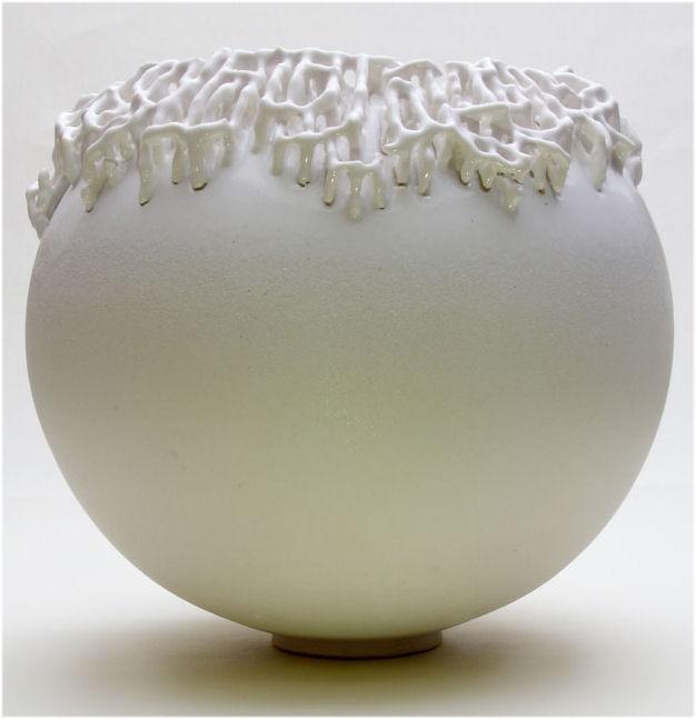 Organic Bowl by Mathias Frank / Kellinghusen.Organic Bowls, German Studios, Keramik Und, Studios Pottery, Ceramics Vases, Mathias Frank, Kunst Aus, Desire Object, Aus Keramik