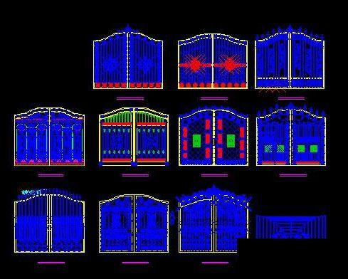 Cad Drawings Of Ancient Buildings Door Free Autocad