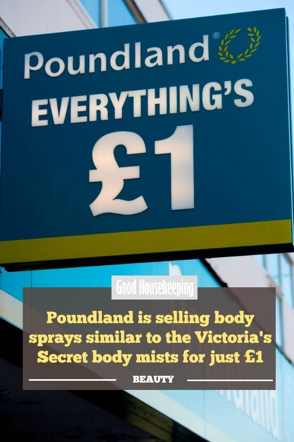 726d9bfd524d8 Poundland is selling body sprays similar to the Victoria's Secret ...