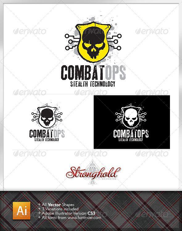 48 best logo templates images on pinterest logo templates font military combat ops logo template pronofoot35fo Choice Image