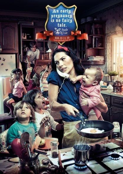 Un embarazo precoz no es un cuento de hadas...