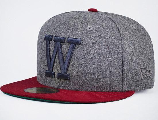 wesc x new era fitted baseball cap