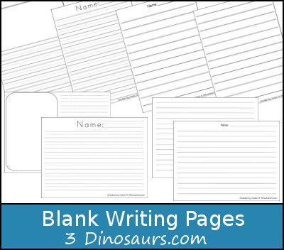 we have been doing some create writing at our house these are simple and easy blank writing pages to use