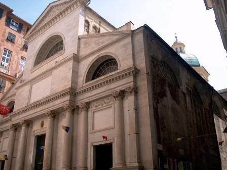 La basilica di Santa Maria delle Vigne (originariamente: Sancta Maria in Vineis), una delle più antiche chiese cattoliche di Genova, è un edificio .....