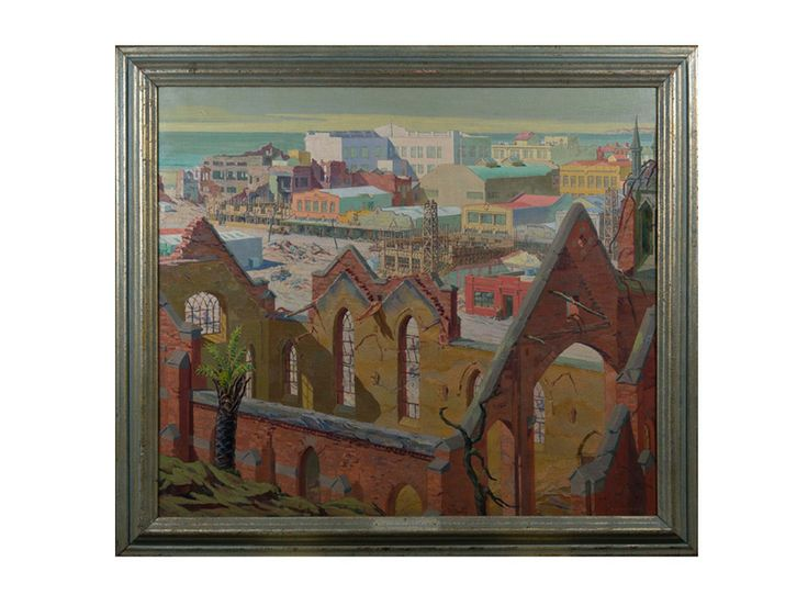 Renaissance, 1932, Roland Hipkins, (b.1895, d.1951), gifted by the de Beere family, collection of Hawke's Bay Museums Trust, Ruawharo Tā-ū-rangi, 51/125.
