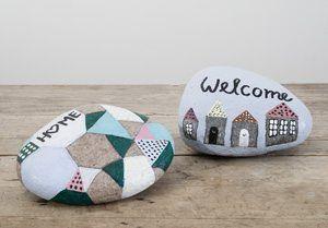 DIY – Mal på sten med stenlak