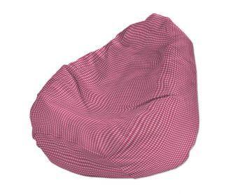 Dekoria, Babzsákfotel - Baby rózsaszín kockás - tündéri