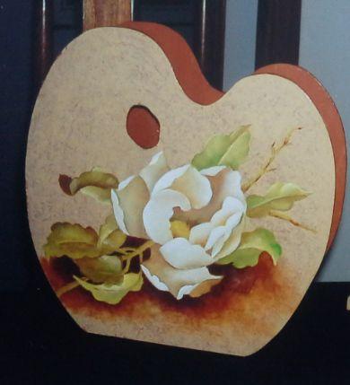 Pintura sobre madera al óleo