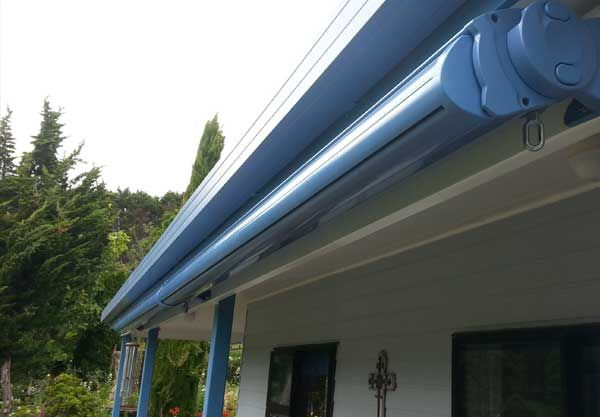 Detail Of Cassette Awning Casing