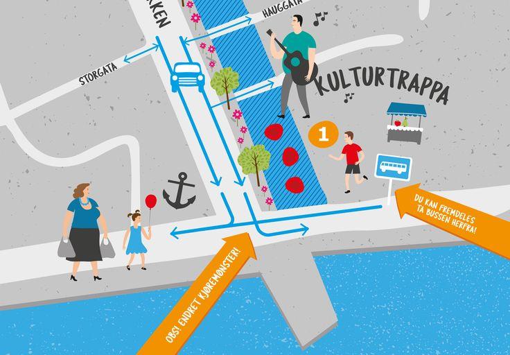 Illustrasjonskart for «Nye Kaibakken» | Petchy